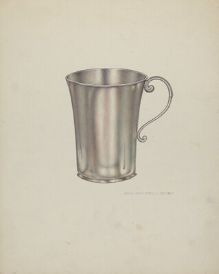 Silver Beaker with Handles