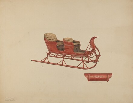 Two Seated Sleigh