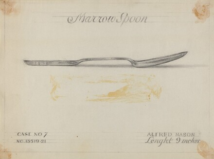 Silver Marrow Spoon