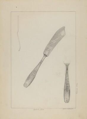 Silver Knife (Rogers Silverware)