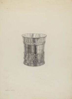 Silver Beaker