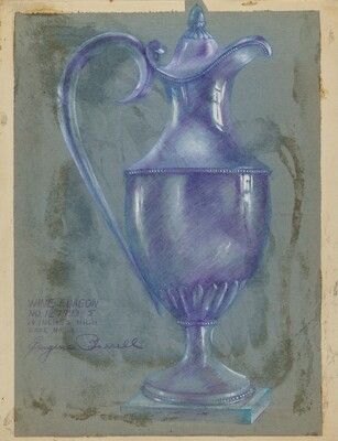 Silver Wine Flagon