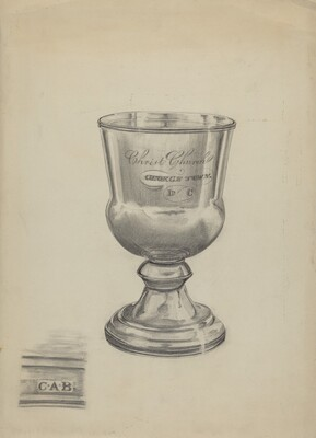 Silver Communion Cup