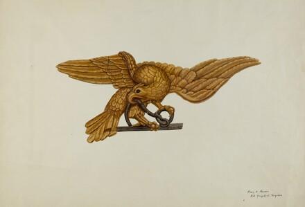 Stern Piece: Eagle