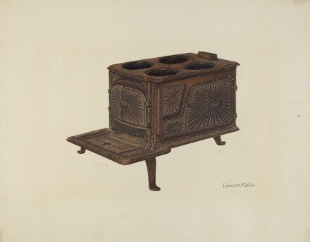 Cast Iron Toy Stove