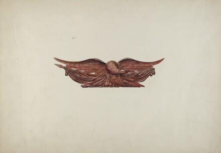 Eagle Stern Piece
