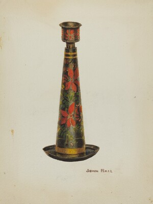 Toleware Candlestick