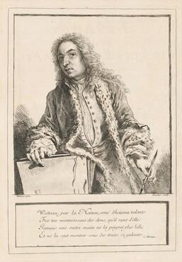 Figures de différents caractères, de Paysages, et d'Etudes dessinées d'après nature par Antoine Watteau (volume I)