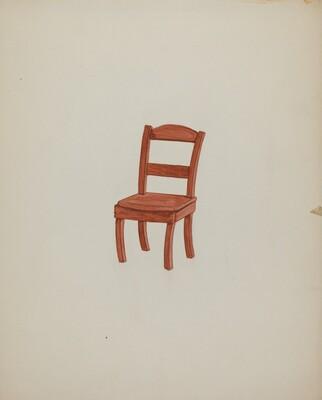 Doll Furniture - Chair