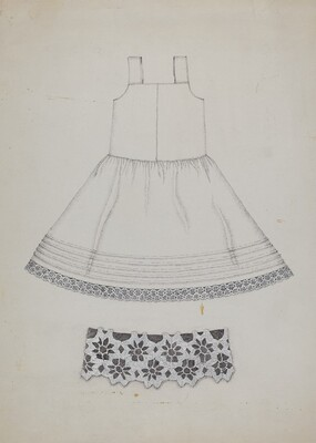 Doll's Cotton Petticoat