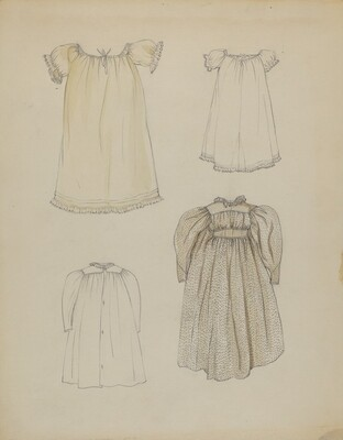 Doll's Dress and Shift