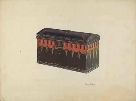 Toleware Tin Box