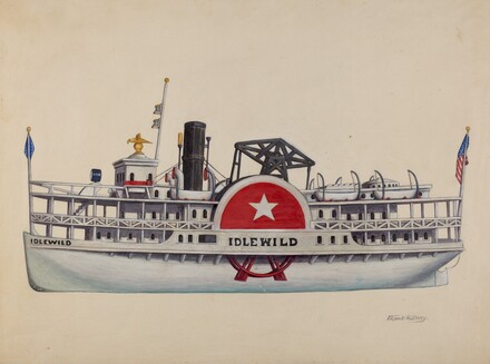 Model Ship Idlewild