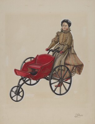 Go-Cart and Doll