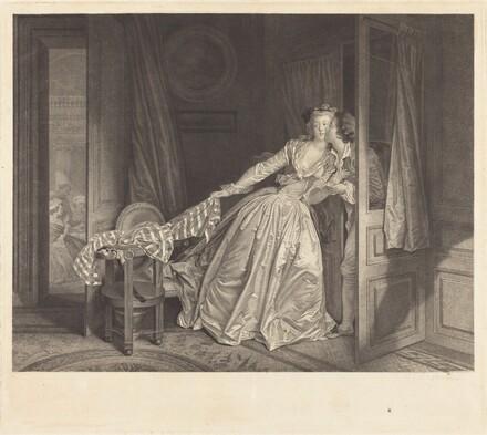 Le Baiser à la Derobée (The Stolen Kiss)