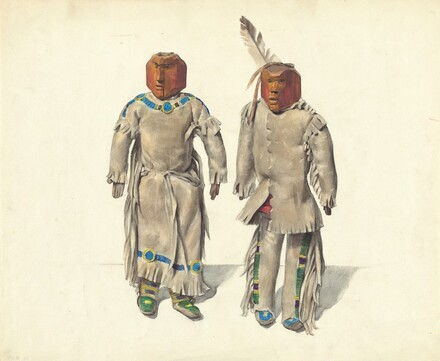 Cree Indian Dolls
