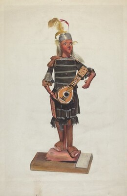 Indian Doll - Winnipeg Brave