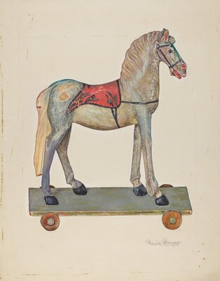 Toy Wooden Horse