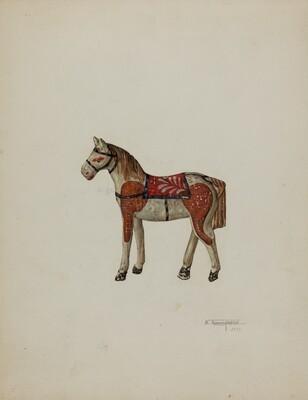 Toy Shetland Pony