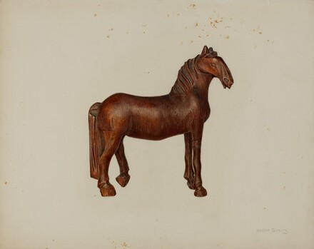 Carved Toy Horse