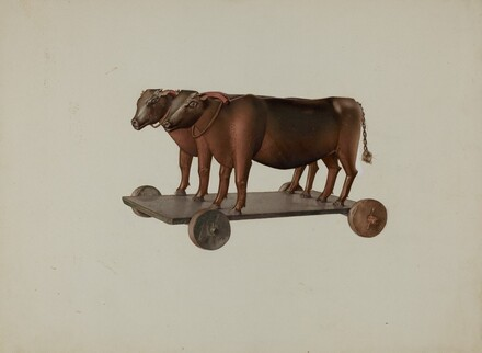 Toy Yoke of Oxen