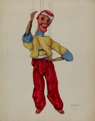 Sinbad Marionette