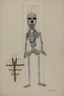 Skeleton Marionette