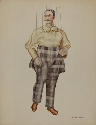 Puppet - Simon Legree