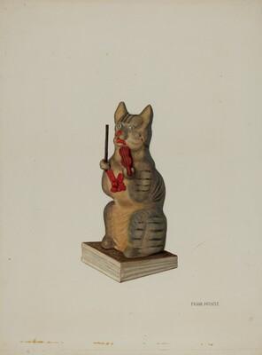 Squeak Toy Kitten
