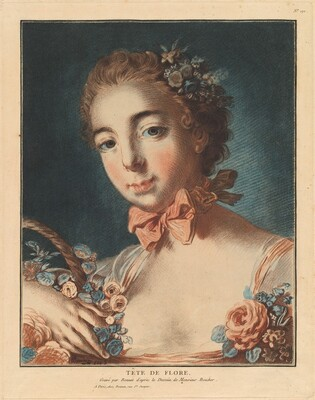 Tête de Flore