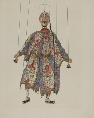 Puppet - Chinese Minstrel