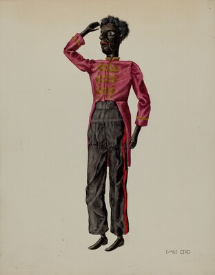 Bell Hop Marionette