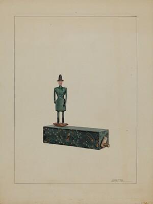 Toy - Man on Music Box