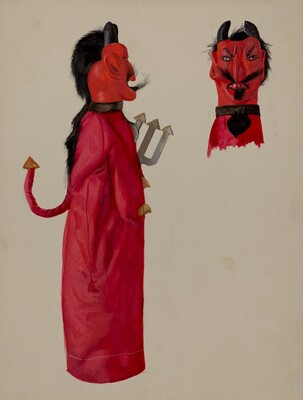 Hand Puppet - Devil