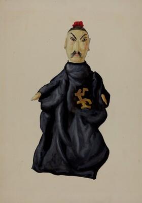 Hand Puppet - Chinaman