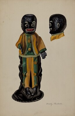 Negro Hand Puppet