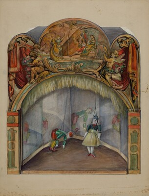 Toy Theater with Automatic Dancer