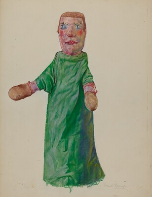 Hand Puppet Boxer