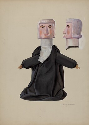 Judge Hand Puppet
