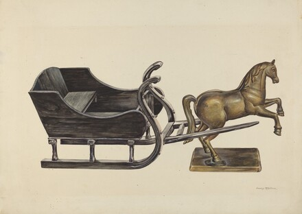 Toy Sleigh