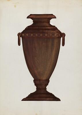 Rosewood Vase