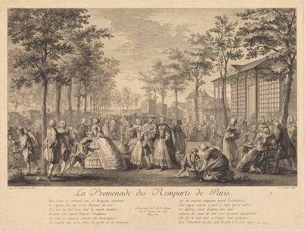 La promenade des remparts de Paris