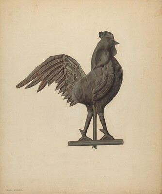 Weather Vane - Cock