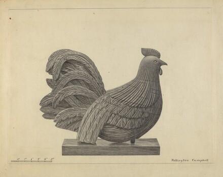 Weather Vane - Cock