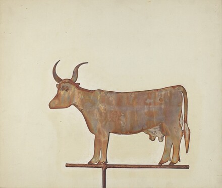 Cow Weather Vane