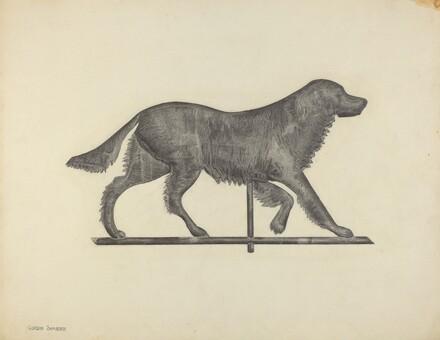 Weather Vane - Setter Dog