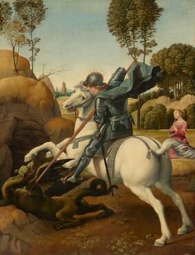 Painting by Raffaello Sanzio