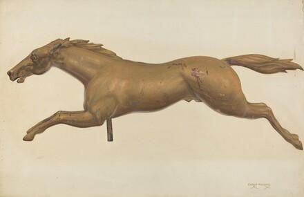 Galloping Horse Weather Vane