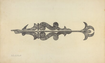 Weather Vane - Scroll with Index