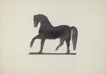 Black Horse Weather Vane